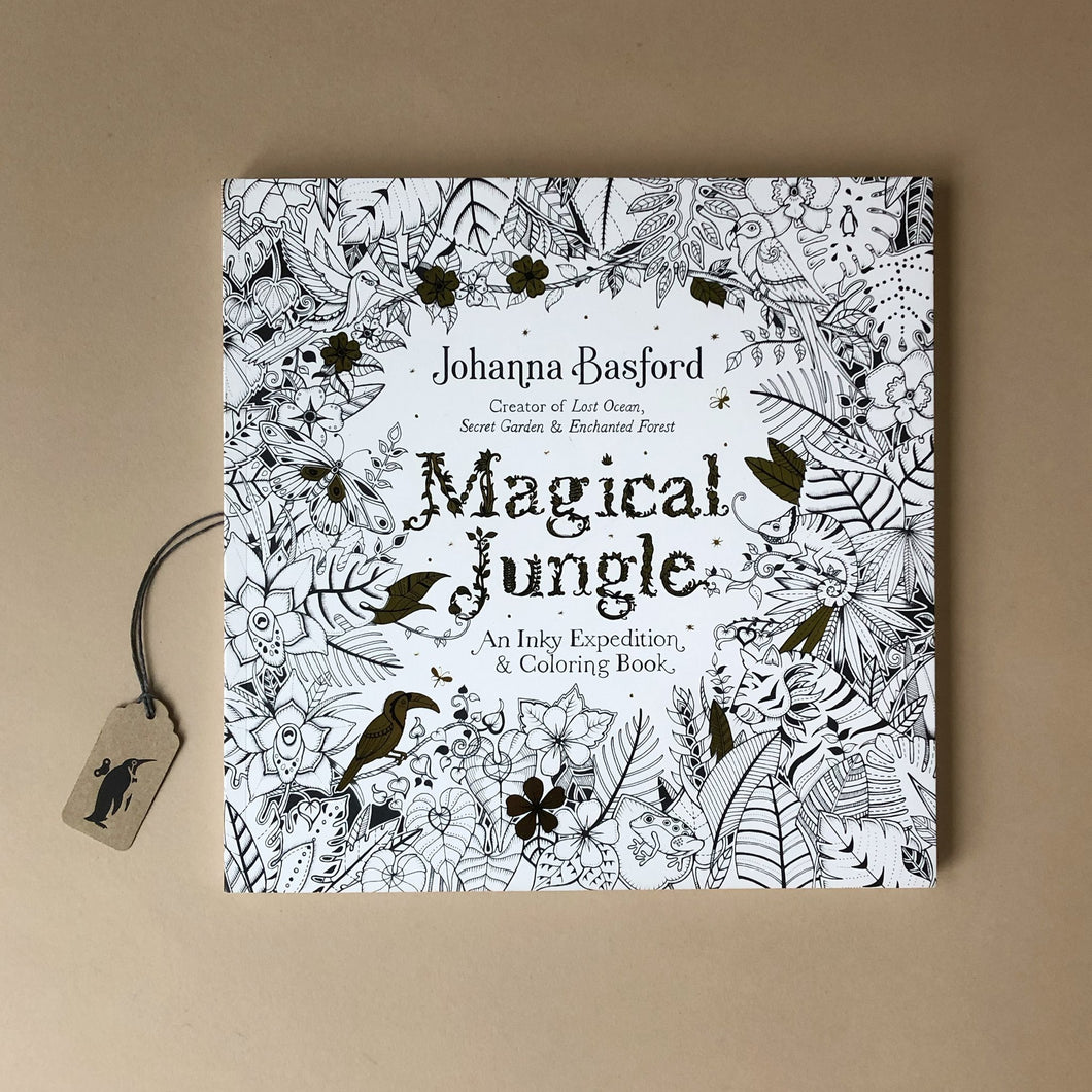 Magical Jungle Coloring Book - Arts & Crafts - pucciManuli