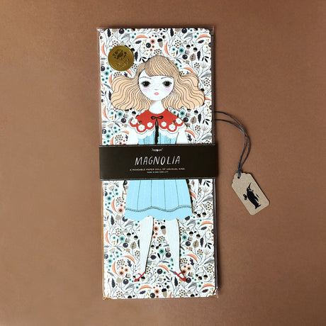magnolia-paper-doll-kit-girl-with-blonde-hair-blue-dress-and-red-collar