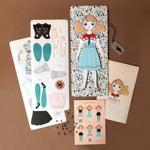 Load image into Gallery viewer, Magnolia Paper Doll Kit - Dolls & Doll Accessories - pucciManuli