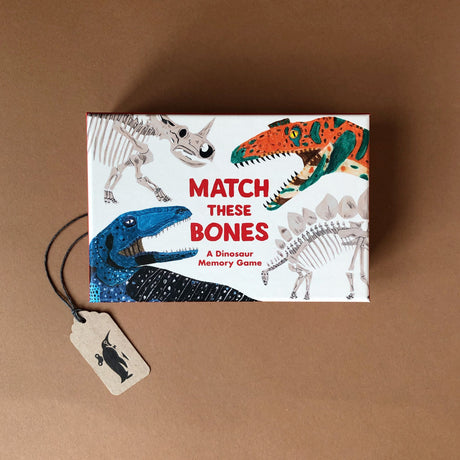Match These Bones A Dinosaur Memory Game - Games - pucciManuli