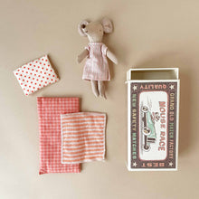 Load image into Gallery viewer, Matchbox Mouse Big Sister | Pink Stripe PJs - Dolls & Doll Accessories - pucciManuli
