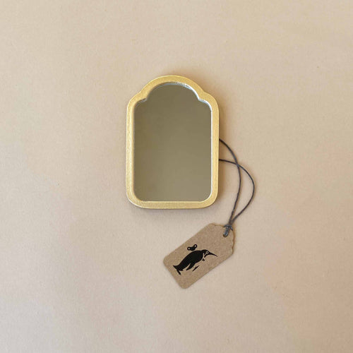 matchbox-mouse-furniture-mirror-with-gold-frame