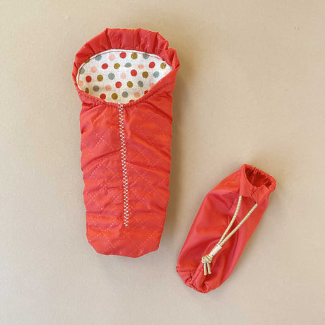 matchbox-mouse-sleeping-bag-red-with-polka-dot-lining