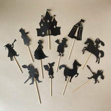 Load image into Gallery viewer, Medieval Shadow Puppet Set - Pretend Play - pucciManuli