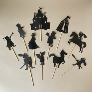 Medieval Shadow Puppet Set - Pretend Play - pucciManuli