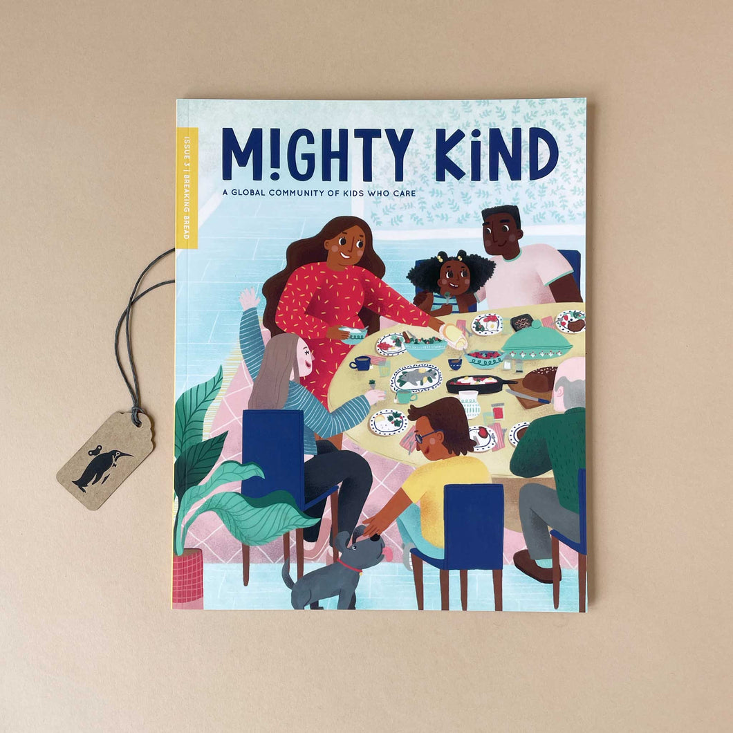 Mighty Kind Kids Magazine | Breaking Bread Issue - Books (Children's) - pucciManuli