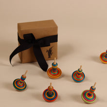 Load image into Gallery viewer, Mona Lotte Wooden Spinning Top - Spinning Tops/Yo-Yos - pucciManuli