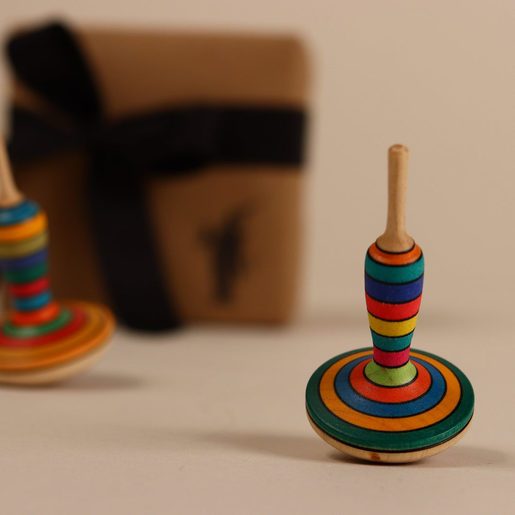Mona Lotte Wooden Spinning Top - Spinning Tops/Yo-Yos - pucciManuli