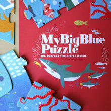 Load image into Gallery viewer, My Big Blue Puzzle - Puzzles - pucciManuli