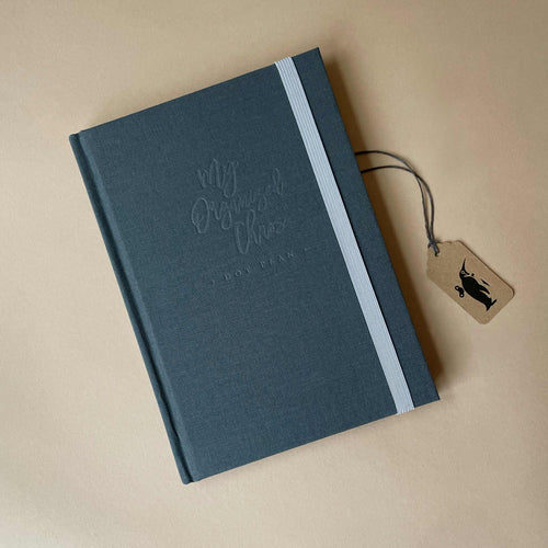 my-organized-chaos-journal-with-dark-grey-fabric-hardcover