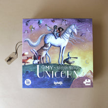 Load image into Gallery viewer, my-unicorn-glitter-puzzle-box