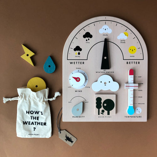 My Weather Station Play Set - Pretend Play - pucciManuli
