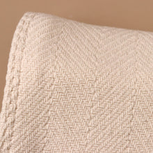 Load image into Gallery viewer, Natural Herringbone Baby Blanket - Blankets/Throws - pucciManuli