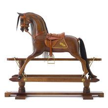 Load image into Gallery viewer, Oak Rocking Horse - Home Decor - pucciManuli