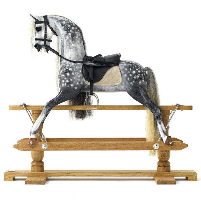 Oak Rocking Horse - Home Decor - pucciManuli