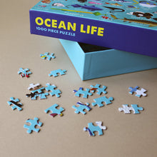 Load image into Gallery viewer, Ocean Life: Fish 1000pc Puzzle - Puzzles - pucciManuli