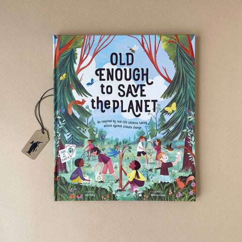 Old Enough To Save The Planet Book - Books (Children's) - pucciManuli
