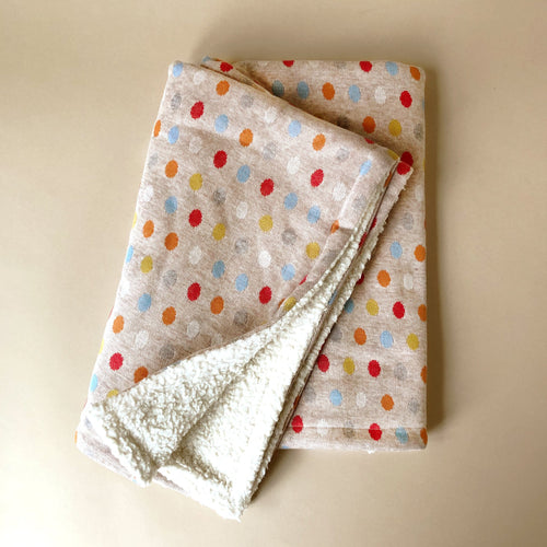 Organic Polka Spot Blanket - Blankets/Throws - pucciManuli