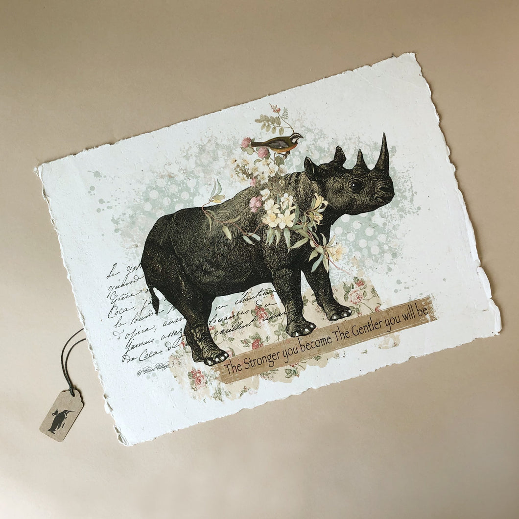 Paper Print | The Stronger You Become the Gentler You Will Be - Home Decor - pucciManuli