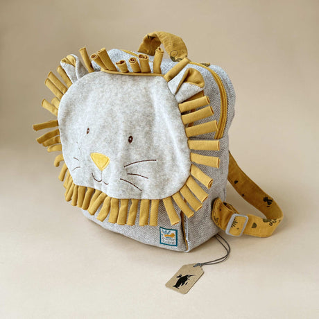 Paprika the Lion Backpack - Baby (Accessories) - pucciManuli