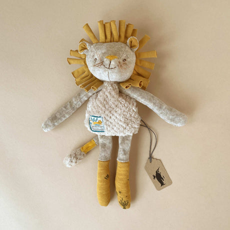 Paprika the Lion Rattle Lovie - Baby (Rattles) - pucciManuli