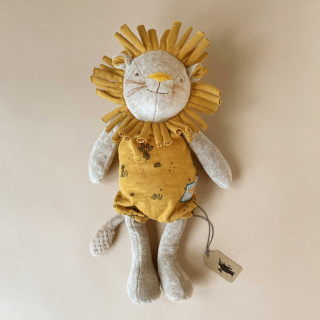 Paprika the Lion - Stuffed Animals - pucciManuli