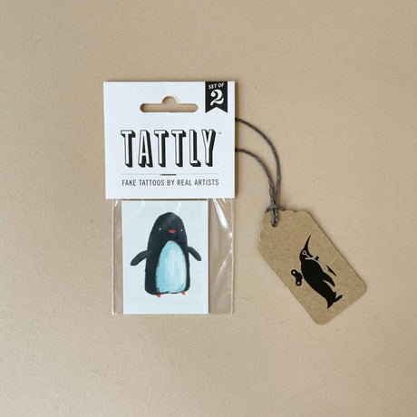 penguin-temporary-tattoo-in-packaging