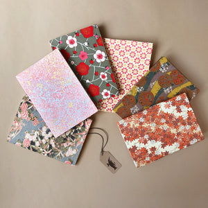 Petite Hand Bound Notebook | Pinks - Stationery - pucciManuli
