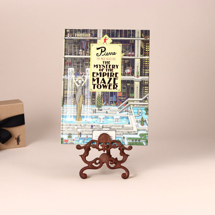 Pierre the Maze Detective - Mystery of the Empire Maze Tower Book - Books (Children's) - pucciManuli
