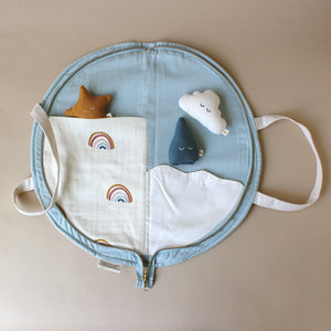 Organic Cotton Playful Purse | Rainbow - Dolls & Doll Accessories - pucciManuli