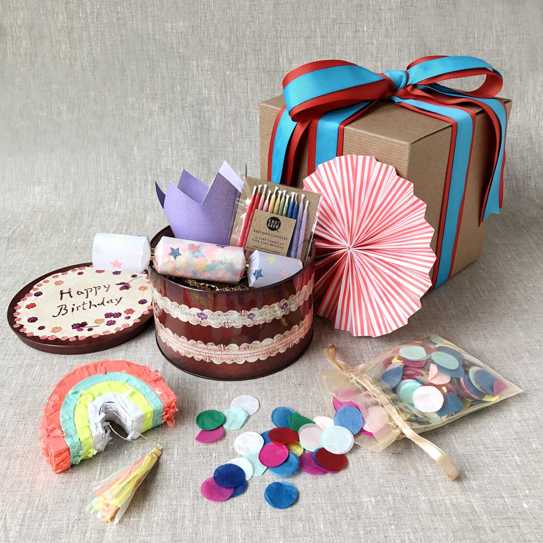 Birthday-In-A-Box | Rainbow - Party - pucciManuli