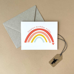 Rainbow Birthday Greeting Card - Greeting Cards - pucciManuli