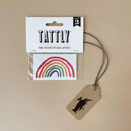 Rainbow Doodle Temporary Tattoo - Accessories - pucciManuli