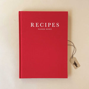 recipes-passed-down-book-hardback-wine-colored