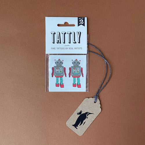 Robot Temporary Tattoo - Accessories - pucciManuli