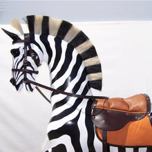 Load image into Gallery viewer, Rocking Zebra - Home Decor - pucciManuli