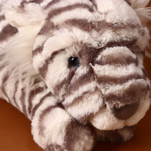 Load image into Gallery viewer, Sacha Snow Tiger | Really Big - Stuffed Animals - pucciManuli