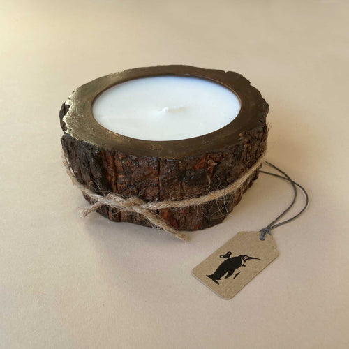 Small Tree Bark Candle | Grapefruit Pine - Home Accessories - pucciManuli