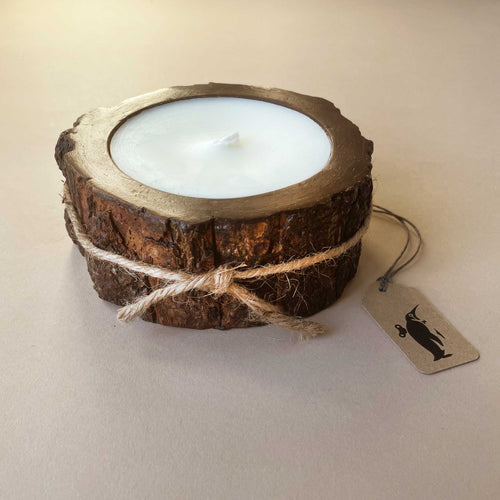 Small Tree Bark Candle | Mountain Forest - Home Accessories - pucciManuli