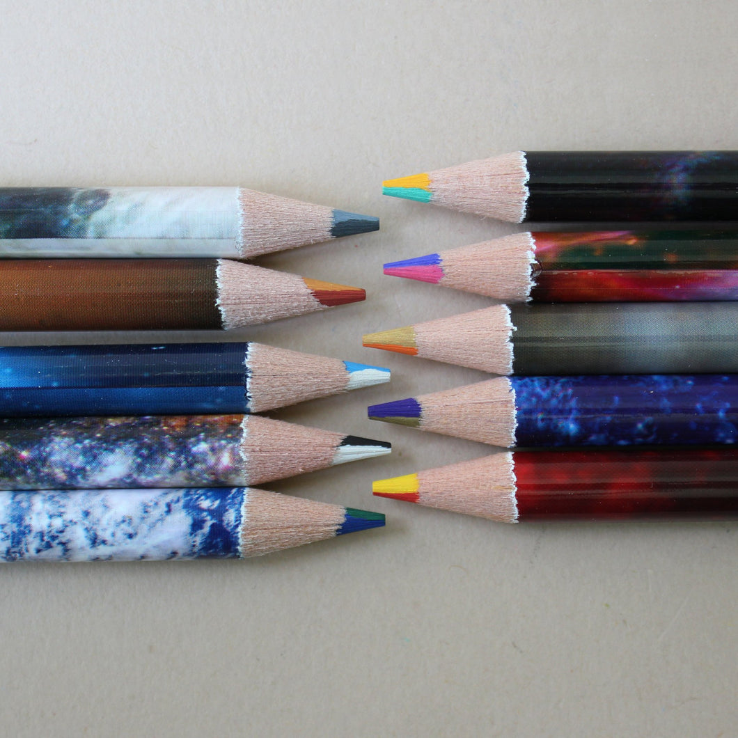 Space Swirl Colored Pencils - Arts & Crafts - pucciManuli