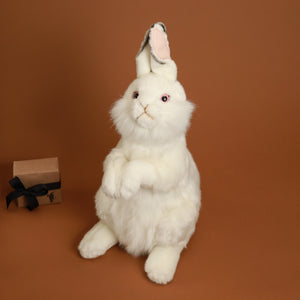 Standing White Rabbit - Stuffed Animals - pucciManuli