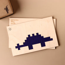 Load image into Gallery viewer, Stegosaurus Pentomino Puzzle - Puzzles - pucciManuli