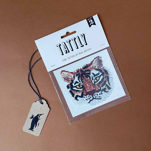 Stitched Tiger Temporary Tattoo - Accessories - pucciManuli