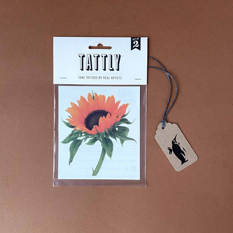Sunflower Temporary Tattoo - Accessories - pucciManuli