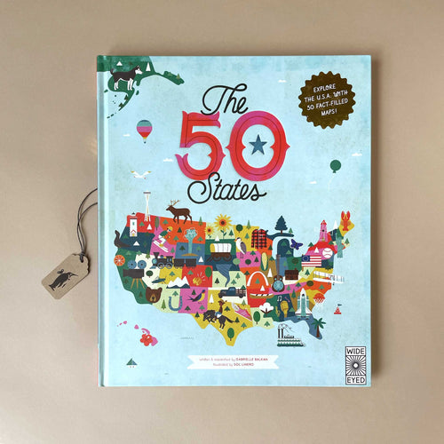 The 50 States Book - Books (Children's) - pucciManuli