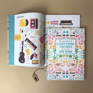 the-big-book-of-everything-you-need-to-get-the-job-done-cover-and-open-page-showing-instruments