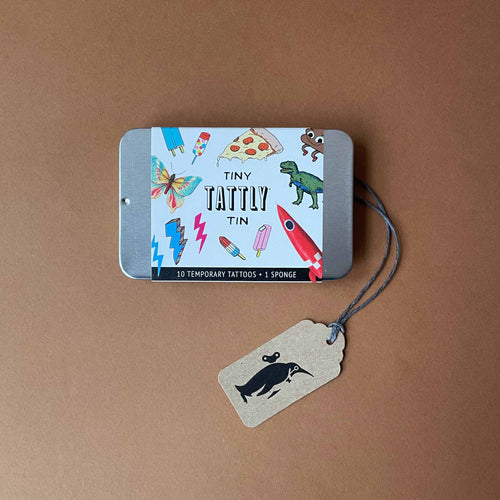 Tiny Tattly Tin | Funner - Accessories - pucciManuli
