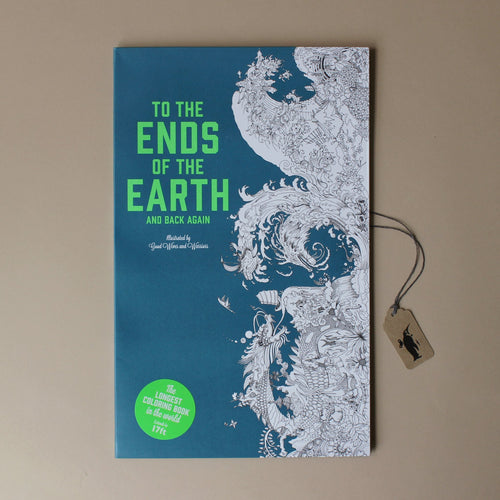 To The Ends Of The Earth Coloring Book - Arts & Crafts - pucciManuli