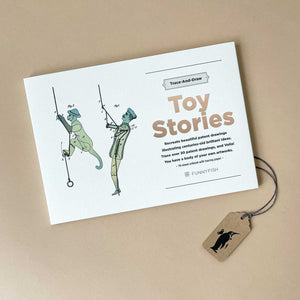 trace-and-draw-toy-stories-with-illustrations-of-a-climbing-monkey-and-man