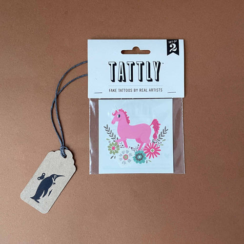 Unicorn Temporary Tattoo - Accessories - pucciManuli